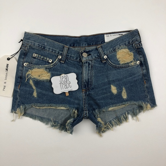 rag & bone Pants - NWT rag & bone jean Winnie Cut Off Shorts